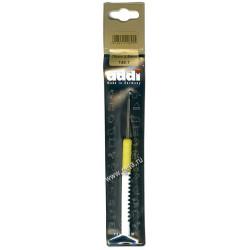 Крючок, вязальный с пластиковой ручкой, №2,5, 15см, Addi