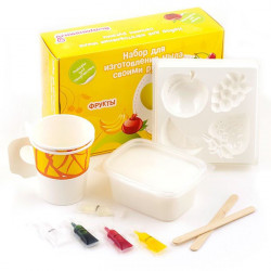 Фрукты, набор для изготовления мыла