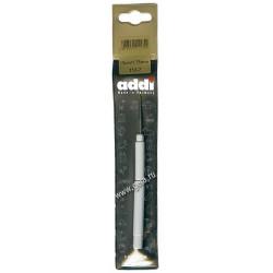 Крючок, вязальный, экстратонкий с ручкой, №1.75, 13 см