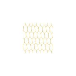 Кремовый, фатин 26±2 г/кв.м, 50х50см, 100% полиэстер