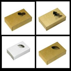 Упаковка из микрогофрокартона для мыла в ассортименте 10х7х3см