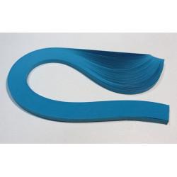 Темно-голубой, цвет №22, бумага для квиллинга 3мм, 100 полос, Mr.Painter
