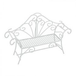 Диван, заготовка для декорирования металл 14.5x4x11см. Blumentag