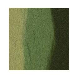 З.яблоко/мор.водоросли/липа, шерсть для валяния, 100% мериносовая шерсть, 50 г