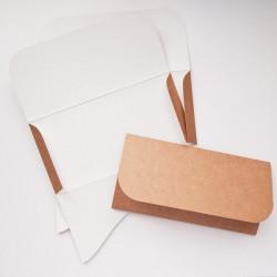 Основа для подарочного конверта №6 крафт 3шт картон 270г/м
