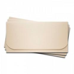 Основа для подарочного конверта №6 слоновая кость 3шт фактура Лён картон 245г/м