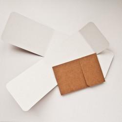 Основа для офомления подарочной КАРТЫ №1 крафт 3шт картон 270г/м