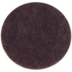 Фетр листовой  Астра, 1,0мм, 180 гр, 20х30см, (YF 690 коричневый)