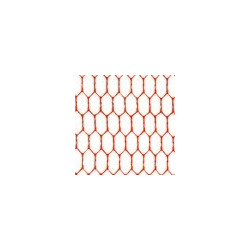Алый, фатин 26±2 г/кв.м, 50х50см, 100% полиэстер