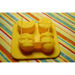 Фрукты мини, силиконовая форма для мыла