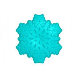 Снежинка кружевная, 3D силиконовая форма для мыла