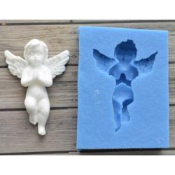 Молящийся ангел 2, молд силиконовый универсальный. АП