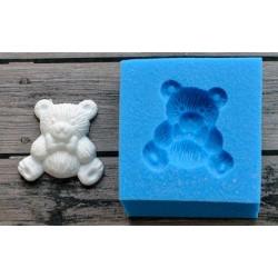 Плюшевый мишка, молд силиконовый универсальный. АП