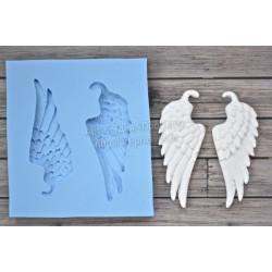 Крылья ангела, молд силиконовый универсальный. АП
