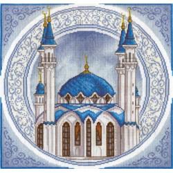Мечеть Кул Шариф, набор для вышивания крестиком, 33х33см, 19цветов Panna
