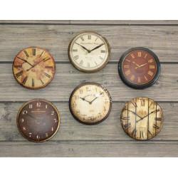 Часы 3, набор скрап-фишек для скрапбукинга 6шт. 2,5см АП