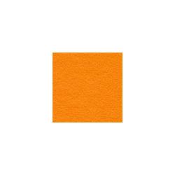 Оранжевый, фетр корейский декоративный Premium 100% полиэcтер, толщина 0,5мм, 38х47см