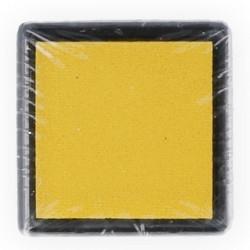 Желтый, штемпельная подушка 34х34х20мм Mr.Painter