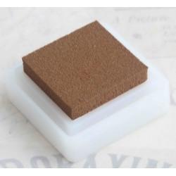 Св.коричневый, штемпельная подушка 34х34х20мм Mr.Painter