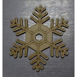 Морозко, заготовка для декорирования d10см, фанера 3мм. NK