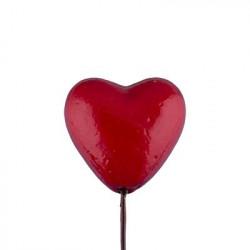 Сердце на веточке, декоративный элемент для флористики 3х2,8см, 3шт. Blumentag