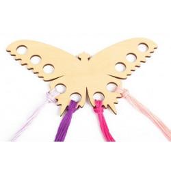 Органайзер для ниток Бабочка, 10 отверстий