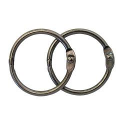 Серебро, кольца для альбома 30 мм, 2шт