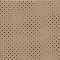 Горошек, крафт бумага упаковочная, 100х70см