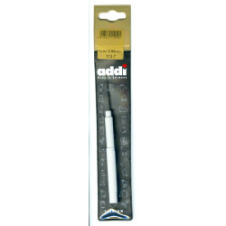 Крючок вязальный, экстратонкий, сталь, №0,5, 13 см.