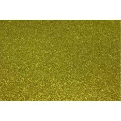 Золотисто-зеленый, фоамиран глиттерный 2мм 20*30 см