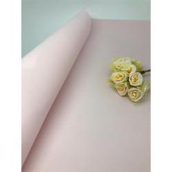 Св.розовый, зефирный фоамиран 1мм, 49х49см