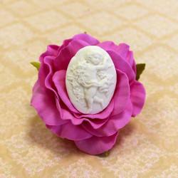 Камея ангелок, молд силиконовый универсальный. АП