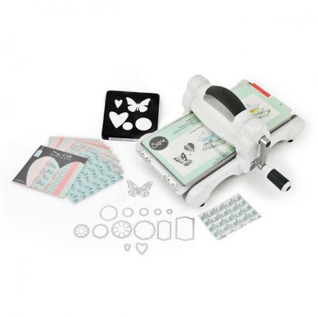 Big Shot Starter Kit, машинка для эмбоссирования и вырубки (набор для начинающих) 36х32х17см Sizzix