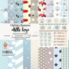 Little boy, набор бумаги для скрапбукинга 30,5х30,5см, 10 двусторонних листов, MoNa design