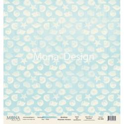 Sea из коллекции Sea party, лист односторонней бумаги 30х30см, 190гр/м MoNa design