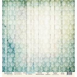 Anchors из коллекции Sea party, лист односторонней бумаги 30х30см, 190гр/м MoNa design