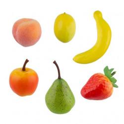 Набор фруктов, декоративный элемент для флористики, 6шт. Blumentag