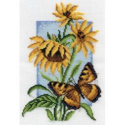 Шоколадница, набор для вышивания крестиком, 13х19см, 15цветов Panna