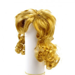Рыжий, локоны, волосы для кукол П80