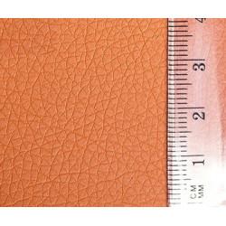 Оранжевый, кожа искусственная 20х30(±1см) толщина 0,85мм