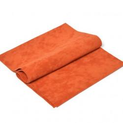 Оранжевый, искуственная двусторонняя замша 20х30(±1см)