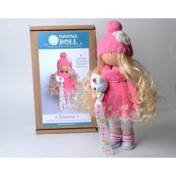 Злата, набор для шитья куклы 27см. Pugovka Doll