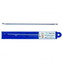Голубой, крючок для нукинга металл d2,7мм 16,5см, GAMMA