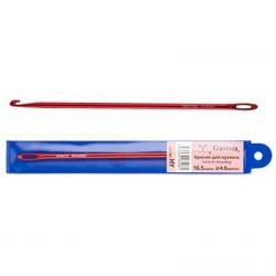 Красный, крючок для нукинга металл d 4мм 16,5см, GAMMA