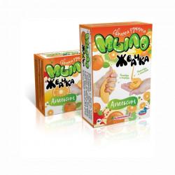 Апельсин, набор для изготовления мыла-жвачки