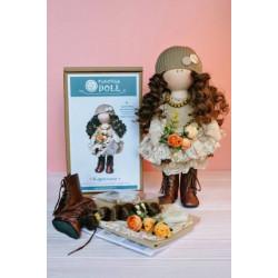 Каролина, набор для шитья куклы 35см. Pugovka Doll