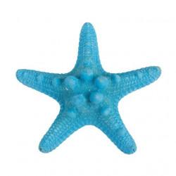 Синий, декоративная морская звезда, 7-10см. Zlatka