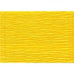 Ярко-желтый, креп(гофробумага), 2,5*0,5м