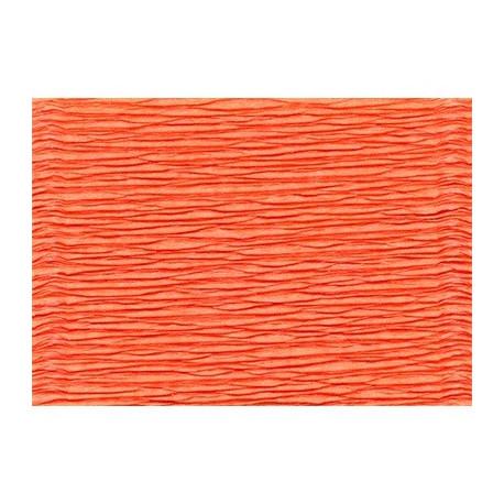 Ярко-оранжевый, креп(гофробумага), 2,5*0,5м