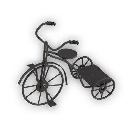 Велосипед, заготовка для декорирования металл 10.5 x5 x9см. Blumentag